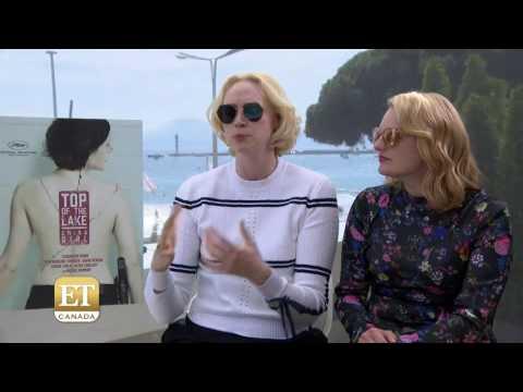 Gwendoline Christie and Elisabeth Moss Interview