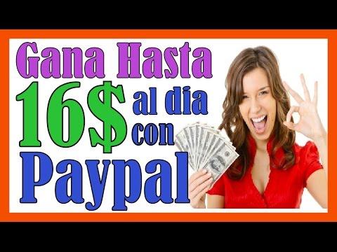 Como Ganar Dinero Con Paypal Rapido Como Ganar Dinero En Internet Paypal Por Internet 2016
