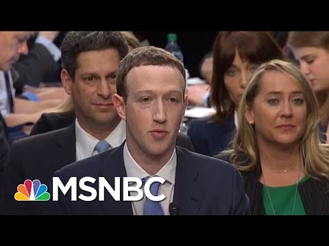 Senator Amy Klobuchar: Mark Zuckerberg Hearing Only A Start, 'He's Just One CEO' | MTP Daily | MSNBC
