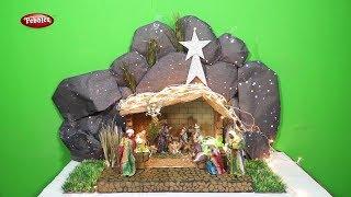 How to Make Easy Christmas Crib in Tamil - DIY Nativity Scene | CHRISTMAS CRIB MAKING | Type -2