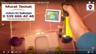 Su Kaçak Tespiti Termal Kamera Ankara 0 539 666 42 48