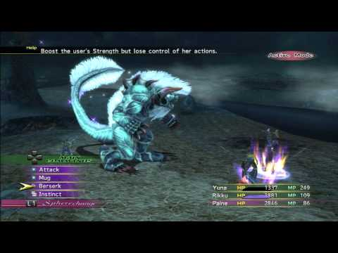 Final Fantasy X-2 Remaster - Humbaba & Machina Panzer