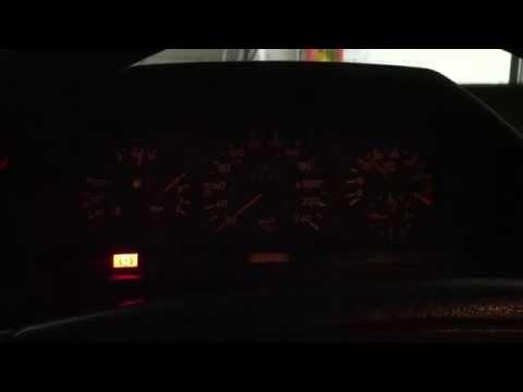 Mercedes W124 M111 testing new viscofan
