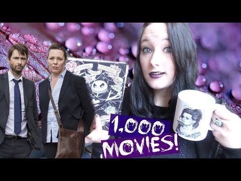 Coffee Chat: I Watched 1,000 Movies!  My New Site and Broadchurch Series 3!  Amy McLean