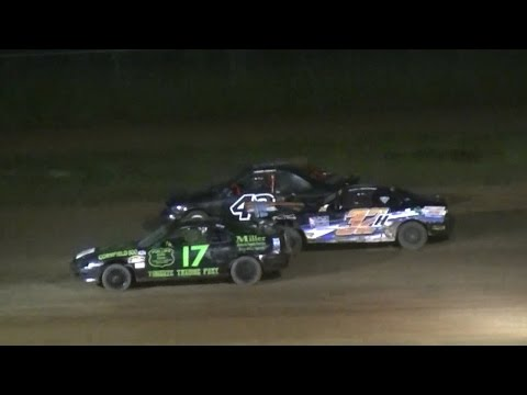 Mini Stock Feature | McKean County Raceway | 6-9-16