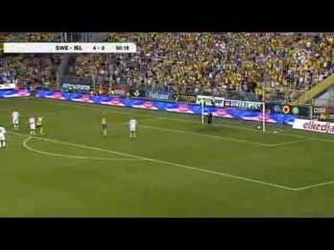 Sweden vs Iceland FUNNY GOAL MUST SEE!!!
