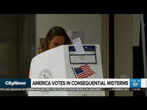 America votes in consequential midterms
