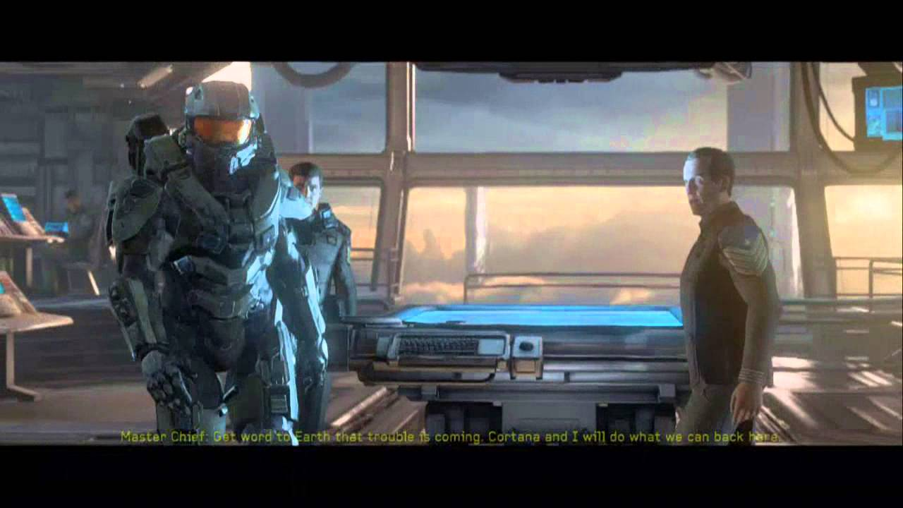Halo 4 The Infinity Leaves Requiem