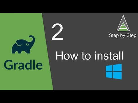 Gradle Beginner Tutorial 2 | How To Install Gradle On Windows | Step By Step