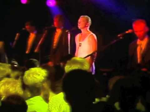 Erasure - 'My Heart... So Blue' live at the Karlsson, Sweden 8/8/86