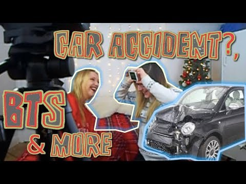 Car Crash, Behind The Scenes & More VLOG *NOT CLICKBAIT*   Sophie