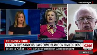 Hillary Clinton slams Bernie Sanders in new book