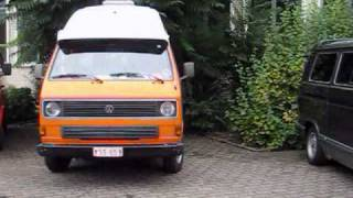 Vw Aircooled Watercooled Classic Vintage Volkswagen type2 t3 @ lier 2010