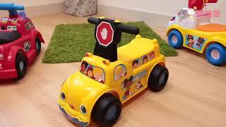 歡樂校車騎乘玩具|開箱實測影片