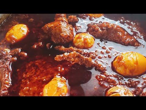 Etto Hindanqoo. Doro wot, chicken Stew. Ethiopian food recipe.