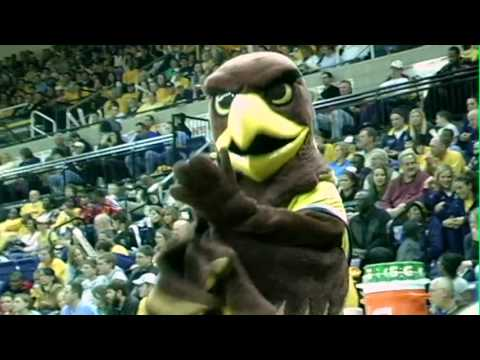 MARQUETTE GOLDEN EAGLES BASKETBALL MASCOTS!