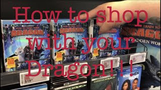 Blu Ray/DVD shopping 05/21/19 (How to shop with your Dragon!!!)