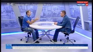 """В прямом эфире на канале """"Россия 24"""" «Следующая остановка - Северный полюс»  фильм А. Камерзанова"""
