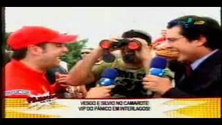Vesgo e Sílvio na Fórmula 1 [02/11/08] Parte 3 de 3