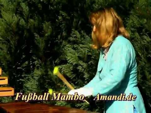Elisabeth Amandi - Mambo Romba aus Ritmo Vito - Musikclip: Fussball Mambo A