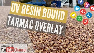 How to overlay a drive in Resin Bound by resin install