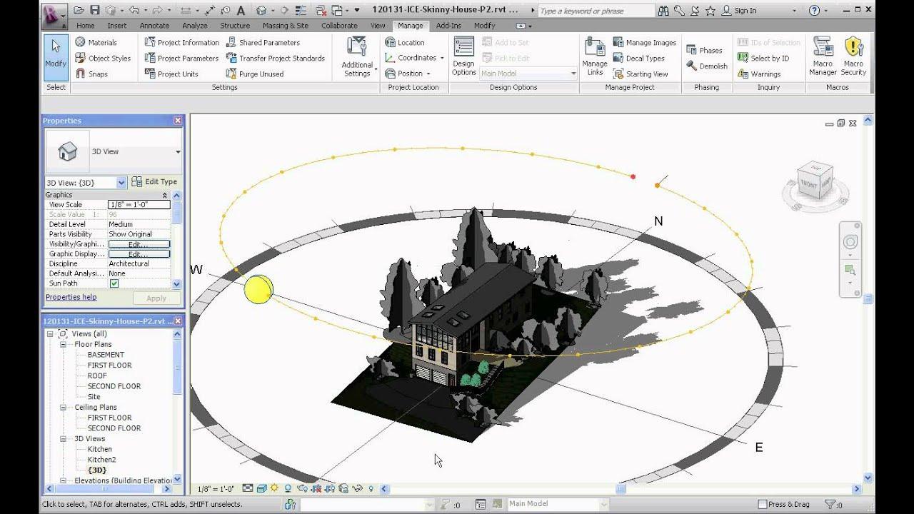 Revit architecture image rendering part 1 location managing revit architecture image rendering part 1 location managing sun path youtube pooptronica