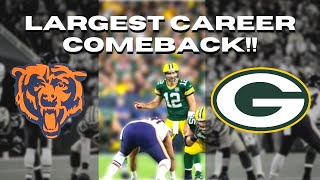 Packers vs Bears Aaron Rodgers EPIC Sunday Night comeback win!! 2018 Week 1