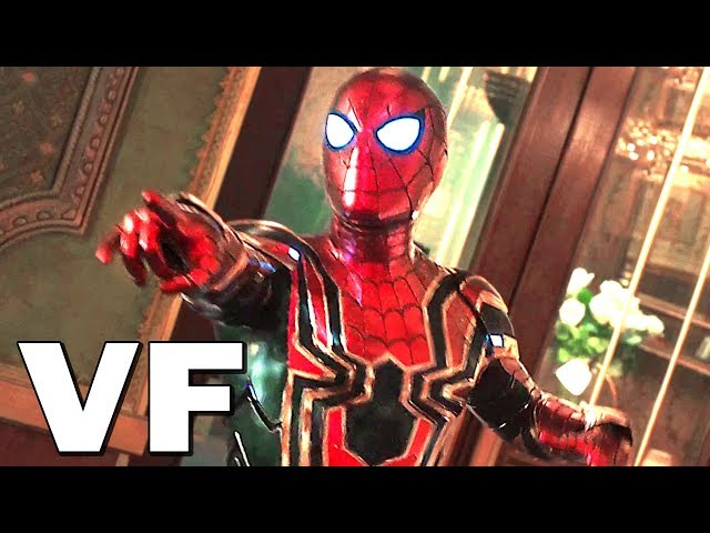SPIDER-MAN FAR FROM HOME Bande Annonce VF # 2 (NOUVELLE, 2019)