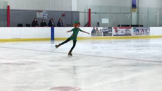 2018 Boise Ice Classic Freeskate 3 Light Entertainment Peter Pan You Can Fly Sadie Miller