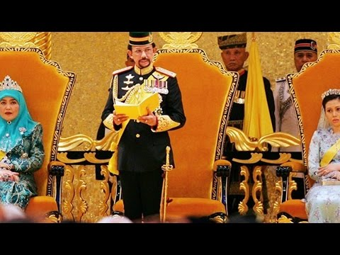 SURGA DUNIA BANGET! Fakta Enaknya Hidup Sultan Brunei Darussalam!