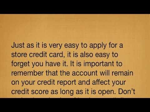 Why You Need To Beware Of Credit You Dont Use