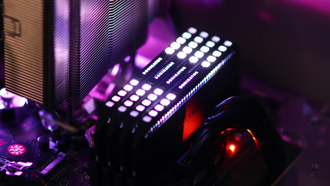 Corsair Dominator Platinum RGB Memory: Brilliant Capellix LEDs With