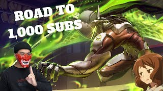 ROAD TO 1,000 SUBS!! - OVERWATCH   PALADINS LIVE STREAM AND MORE