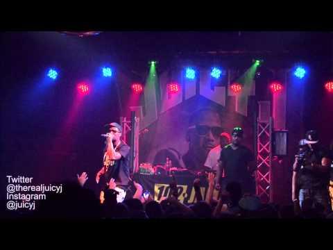 Juicy J live @ Greene St. 5/8/13