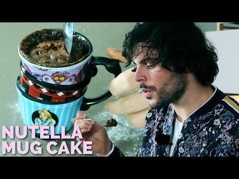 Mug Cake alla NUTELLA in pochi minuti   CUCINA BUTTATA
