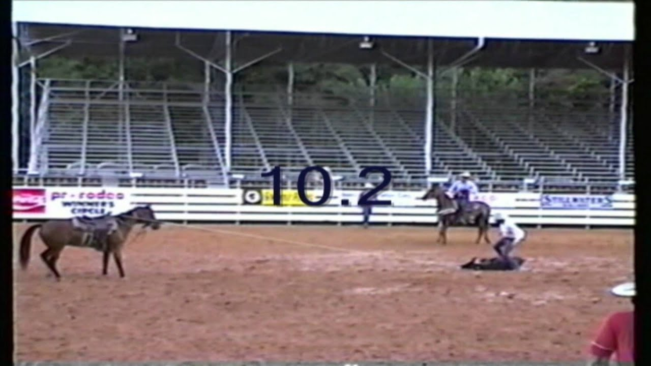 Calf Roping 1988 Ocala Florida Rodeo Youtube