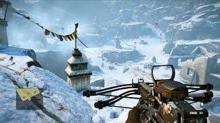 10 Minutes of Original Far Cry 4 Gameplay - Gamescom 2014