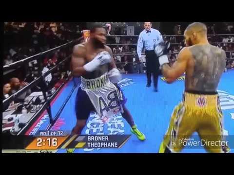 Adrian Broner vs Ashley Theophane full fight
