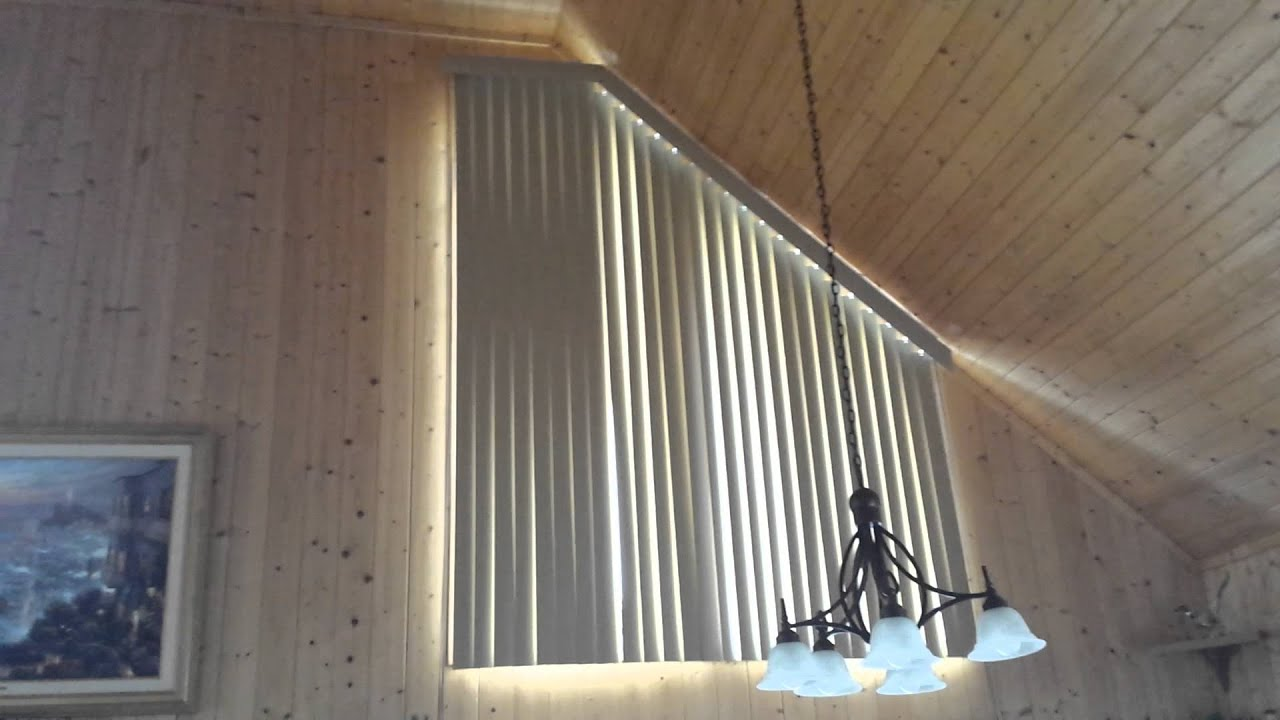 Chalet Triangular Blinds - Made 4 U Shades Blinds ...