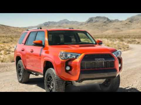 2018 toyota 4runner trd sport youtube. Black Bedroom Furniture Sets. Home Design Ideas