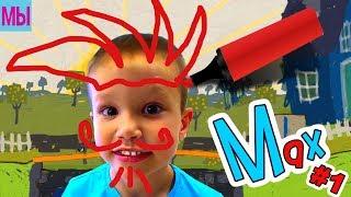 Мистер Макс и Волшебный Фломастер Приключения Мальчика в Нарисованной Стране