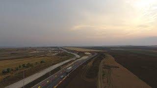 Трасса Таврида под Керчью: первая съемка с воздуха