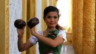 Traditional Apsara Dancer in Temple, Cambodia / WATCH 1080p