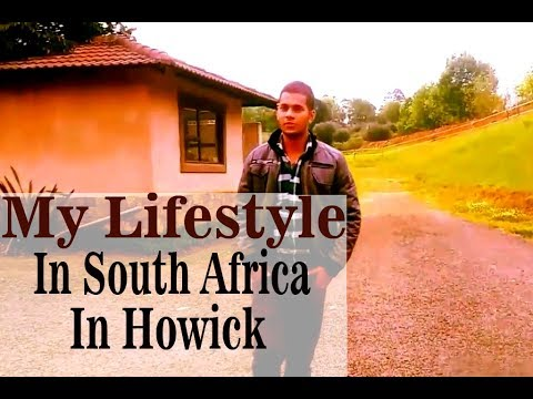 My Lifestyle At South Africa, living in awsome home near pond