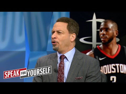 Chris Broussard on Shaq fighting with Barkley, Houstons matchup with GSW | NBA | SPEAK FOR YOURSELF