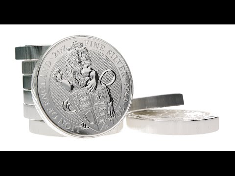 Queen's Beasts Silver Lion 2 oz Bullion Coin