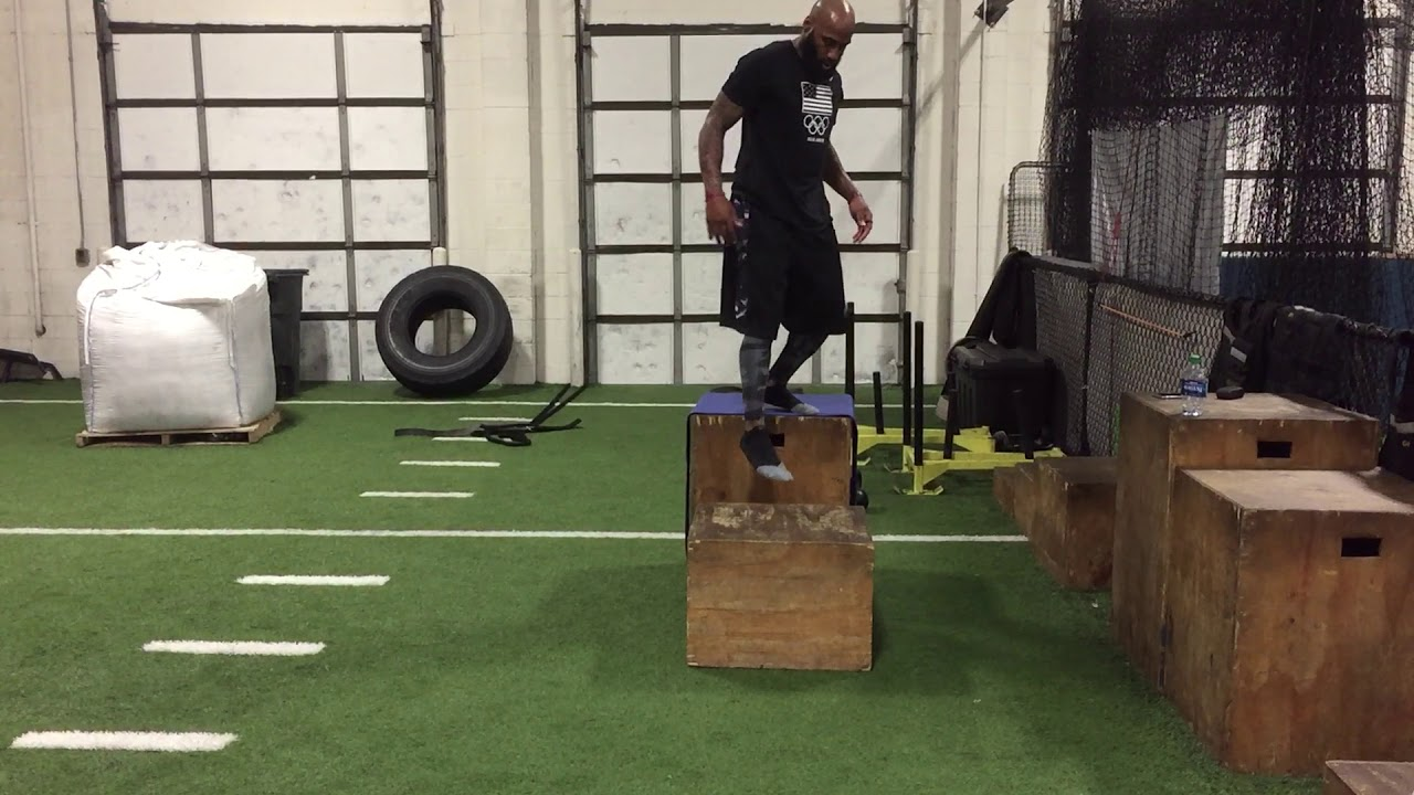 NFL Training with DeAngelo Hall: Lateral Depth Drop and ...