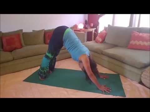 Change Your Life with Yoga Vlog 6: Downward Dog, Upward Dog and Cobra