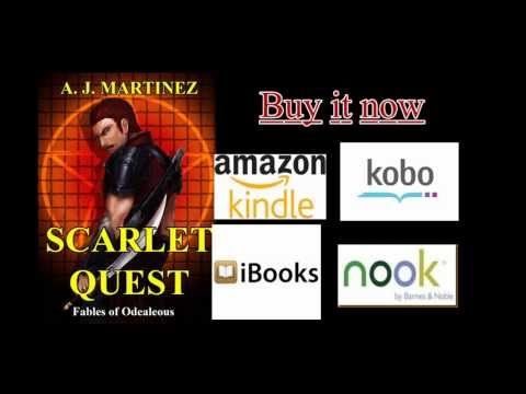 Scarlet Quest by A.J. Martinez(Book Trailer)