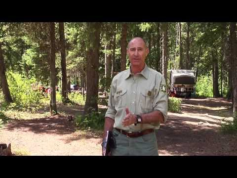 What is dispersed camping and how can we manage it?   Site B
